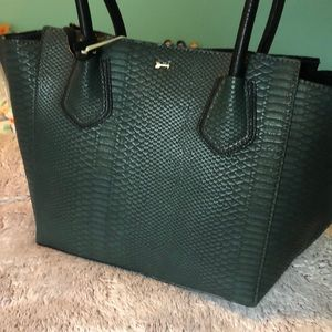 Gianni Bini Tote Dark Green